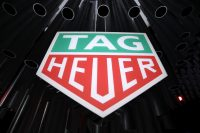 NEW YORK, NEW YORK - MARCH 12: A view of signage is seen during The Launch of The New Connected Watch by TAG Heuer at The Caldwell Factory on March 12, 2020 in New York City. (Photo by Brian Ach/Getty Images for TAG Heuer )