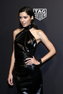 NEW YORK, NEW YORK - MARCH 12: Paulina Vega attends The Launch of The New Connected Watch by TAG Heuer at The Caldwell Factory on March 12, 2020 in New York City. (Photo by Brian Ach/Getty Images for TAG Heuer )
