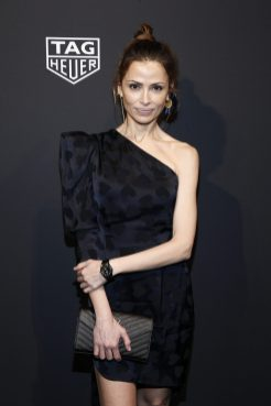 NEW YORK, NEW YORK - MARCH 12: Almudena Fernandez attends The Launch of The New Connected Watch by TAG Heuer at The Caldwell Factory on March 12, 2020 in New York City. (Photo by Brian Ach/Getty Images for TAG Heuer )