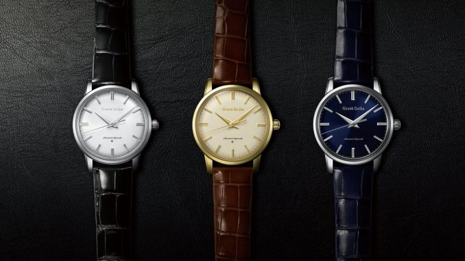 Re-creations of the first Grand Seiko