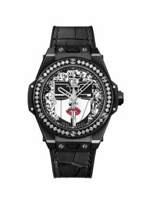 Hublot Big Bang One Click Marc Ferrero Ceramic Black and White