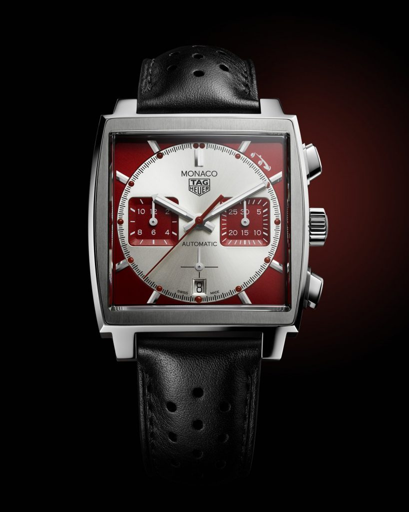 Avant-garde yet timelessly chic, the TAG Heuer Monaco Grand Prix de Monaco Historique is a bold new take on a maverick timepiece, and a celebration of the enduring bond between TAG Heuer, its iconic Monaco line and the prestigious racing events that take place in its namesake destination.