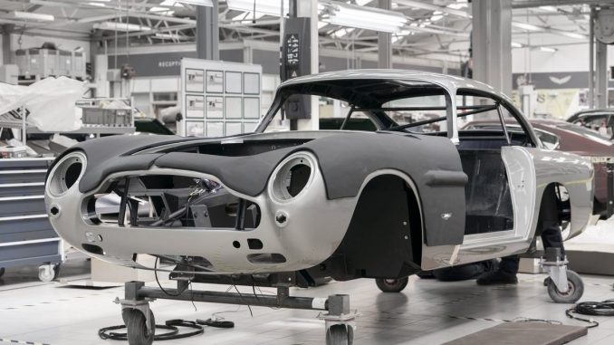 Aston Martin Db5 Goldfinger Continuation Watch I Love