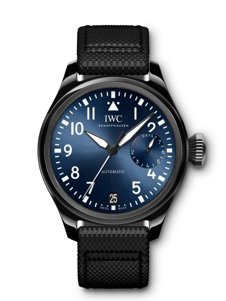 Tom Brady wears IWC