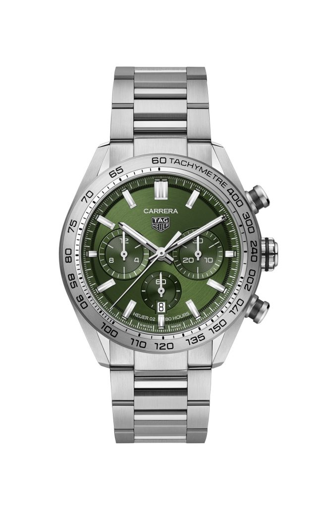 TAG Heuer Carrera Sport Chronograph 44 mm Calibre HEUER02 Automatic Reference CBN2A10.BA0643