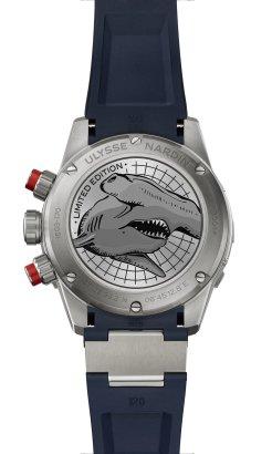 Ulysse Nardin Diver Chronograph 44mm Hammerhead Shark Limited Edition