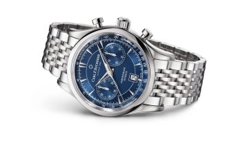 This summer, the chronograph line that originally launched in 2016 will be extended to include two brilliant blue versions.