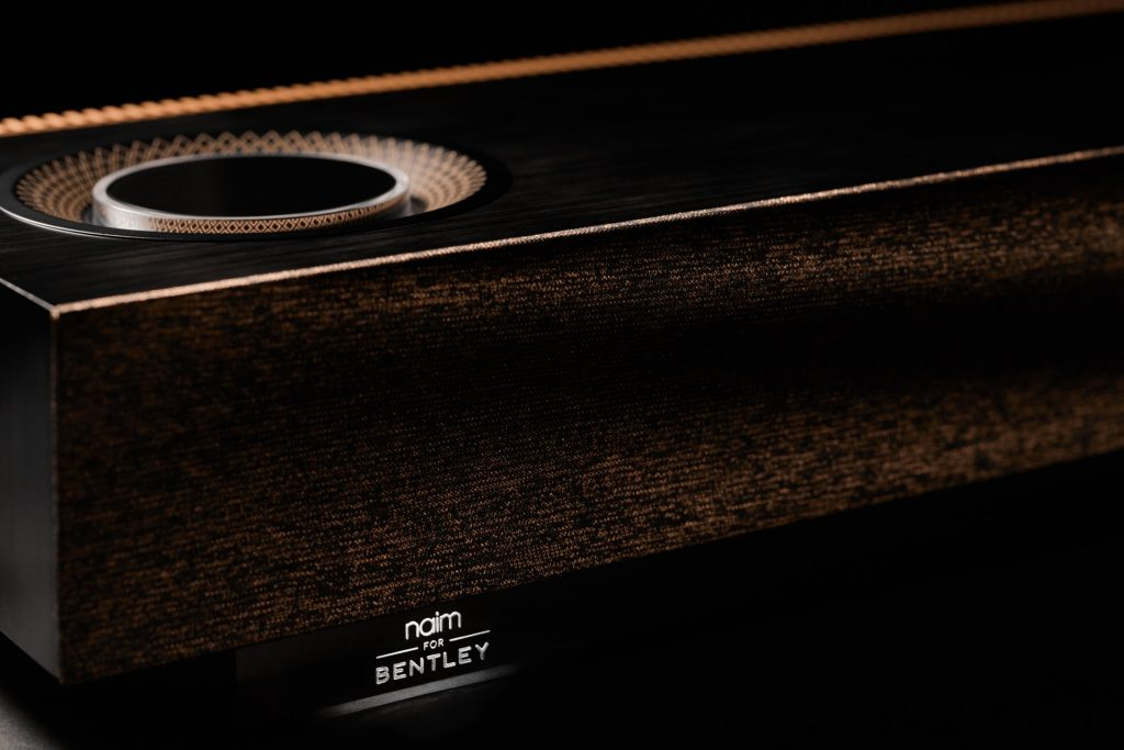 Focal and Naim for Bentley