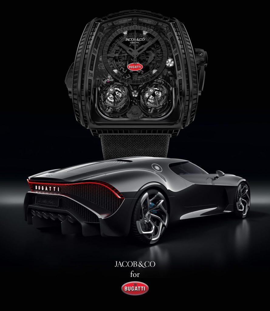Bugatti x Jacob & Co. Twin Turbo Furious La Montre Noire Bugatti