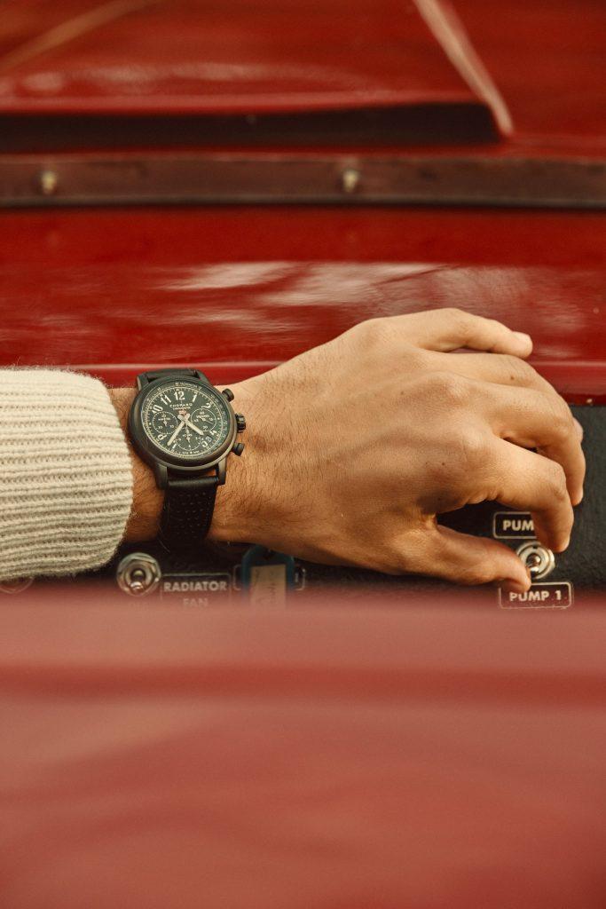 Ben Dahlhaus wearing the Mille Miglia Race Edition - 1000 Miglia 2020 (c) Adam Fussell