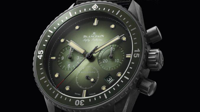 Blancpain Fifty Fathoms Bathyscaphe Chronographe Flyback