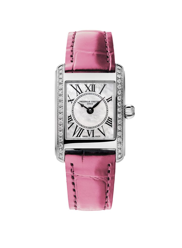 Classic Carrée Ladies Reference FC-200MPWCD16-PR