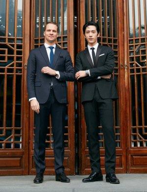 Mr. Jing Boran & Mr. Maxence Kinget