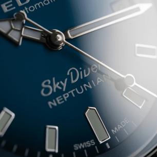 Edox SkyDiver Neptunian