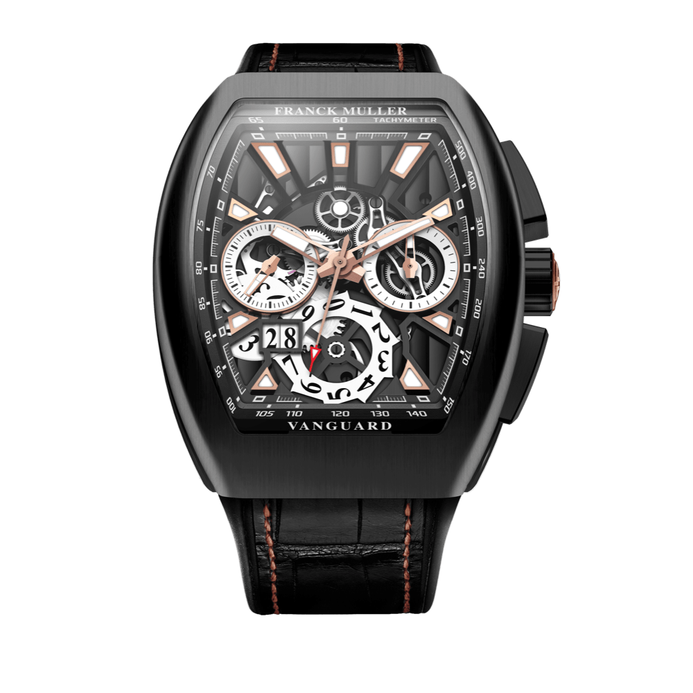 Franck Muller Vanguard Skeleton Grande Date Chronograph