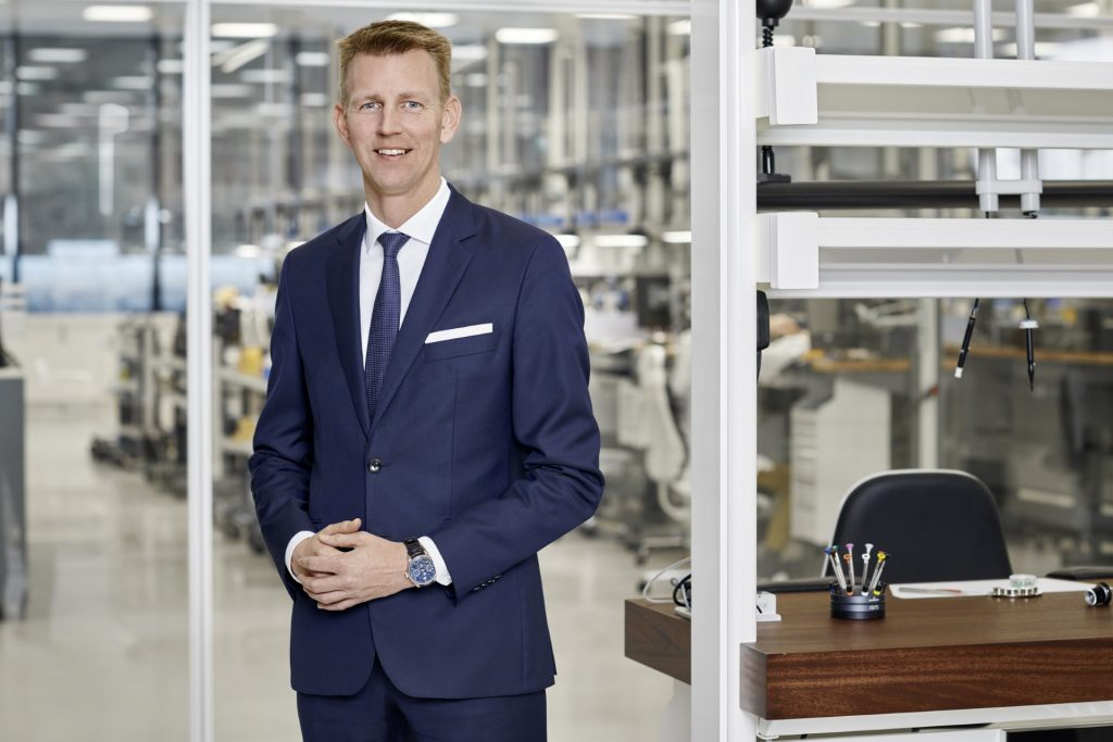 Andreas Voll, COO of IWC Schaffhausen