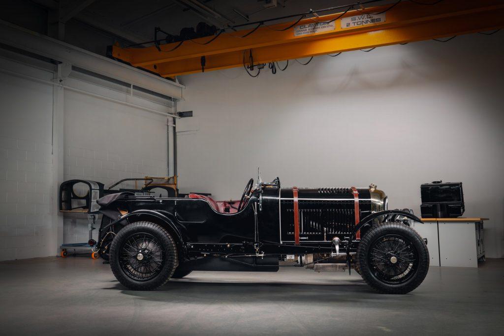 Bentley Blower Car Zero