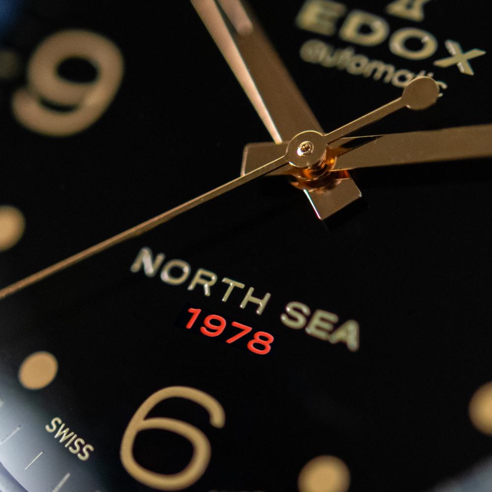 Edox North Sea 1978 Automatic Special Edition