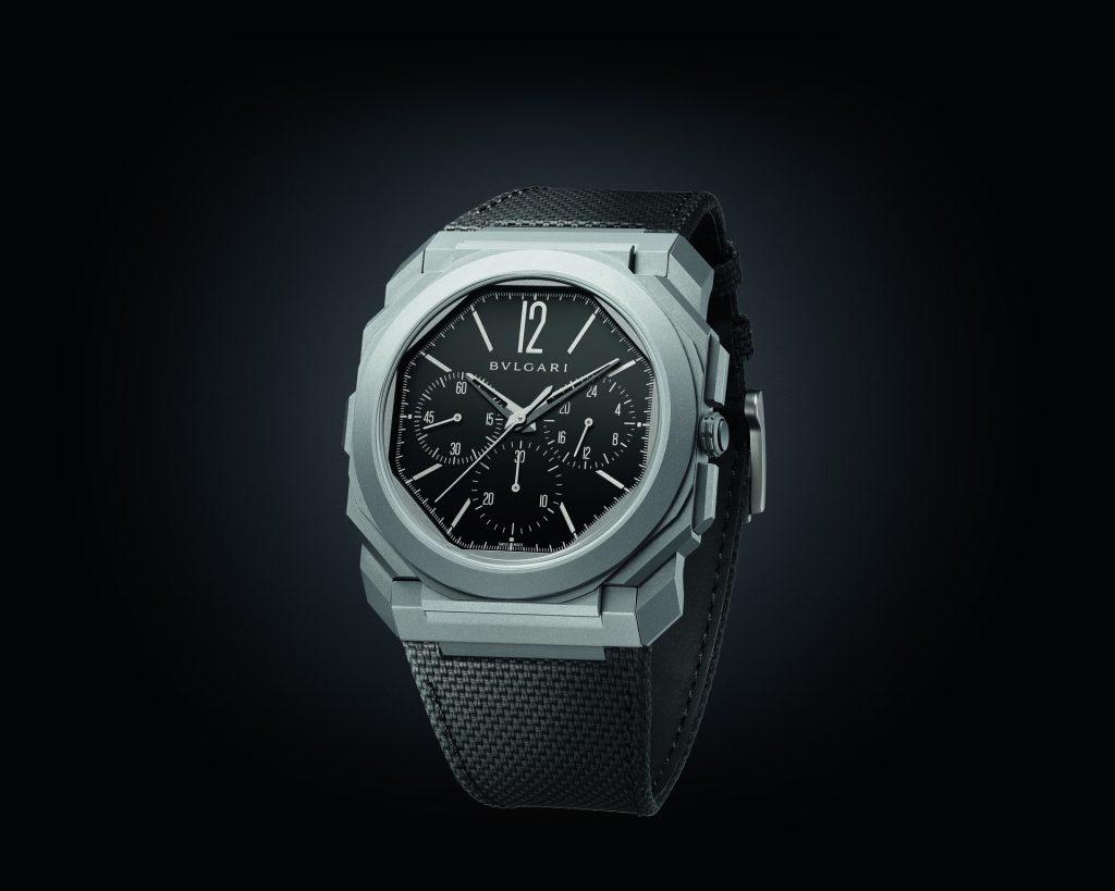 Octo Finissimo Chronograph GMT Titanium 103371