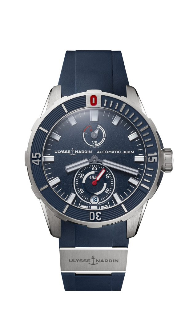 BLUE DIVER 44MM: REWARDED TO CHARLIE DALIN, FIRST TO CROSS THE FINISH LINE OF THE VENDEE GLOBE 2020