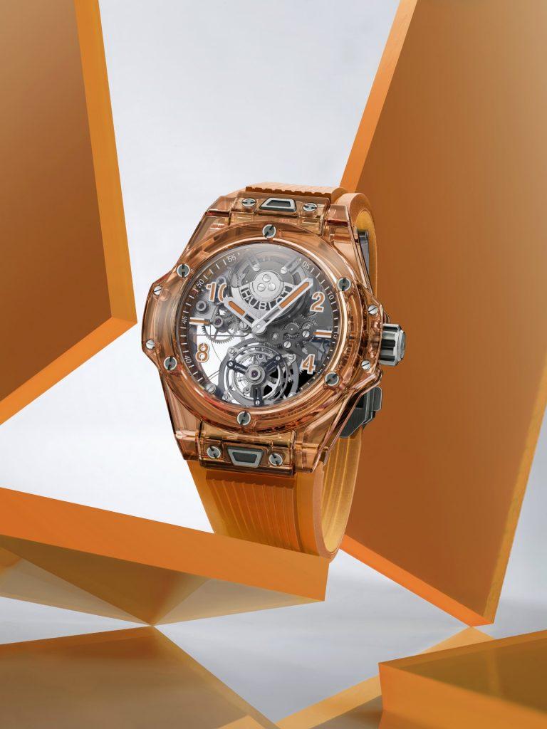 Hublot Big Bang Tourbillon Automatic Orange Sapphire