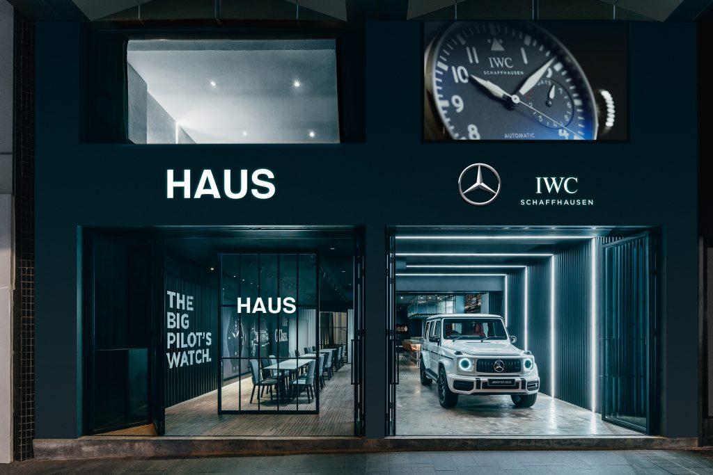 "IWC Schaffhausen and Mercedes-Benz open ""HAUS"""