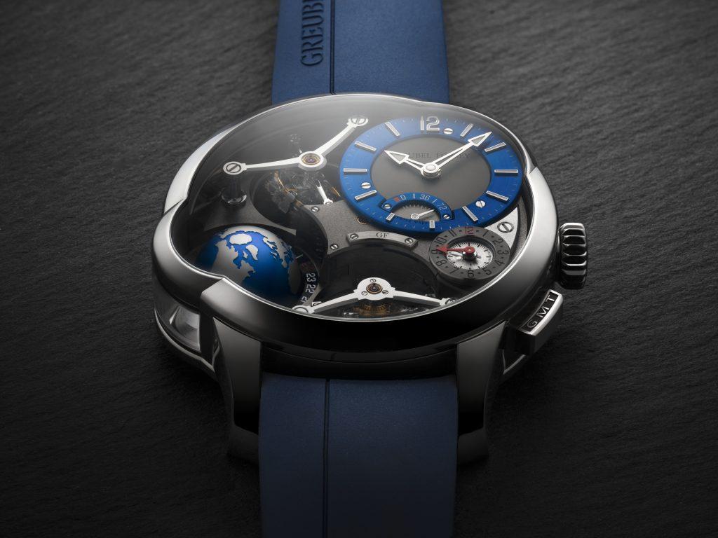 Greubel Forsey GMT Quadruple Tourbillon Titanium
