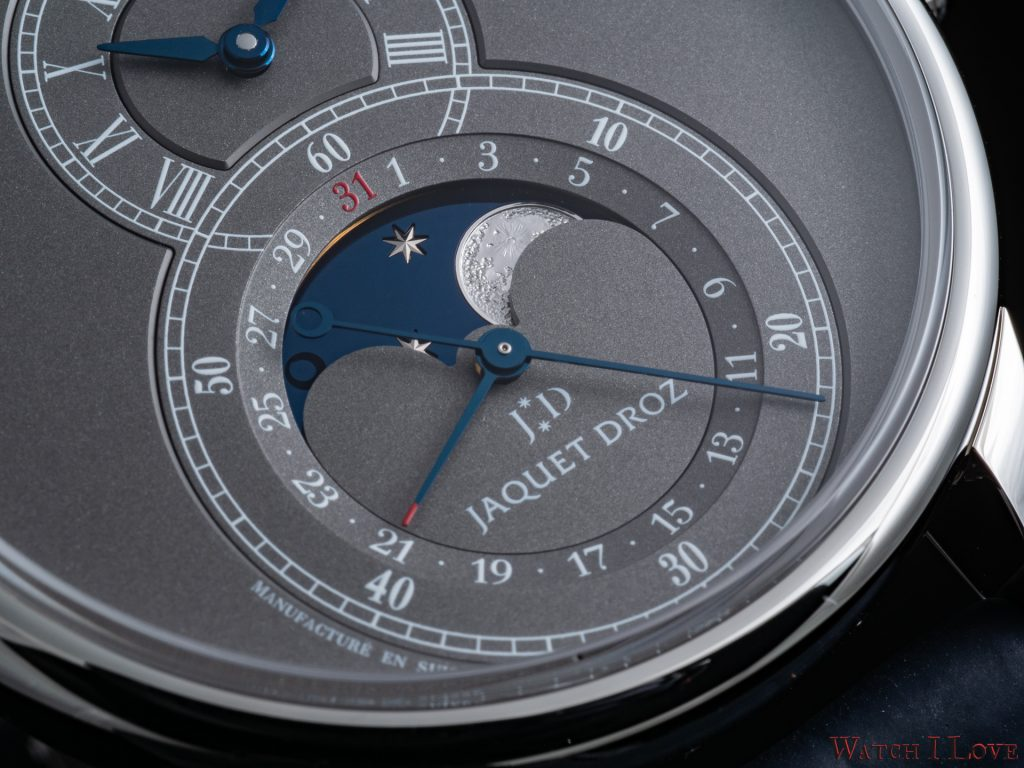 Jaquet Droz Grande Seconde Moon Anthracite Anthracite