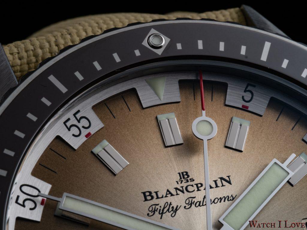 Blancpain Fifty Fathoms Bathyscaphe Day Date Desert Edition