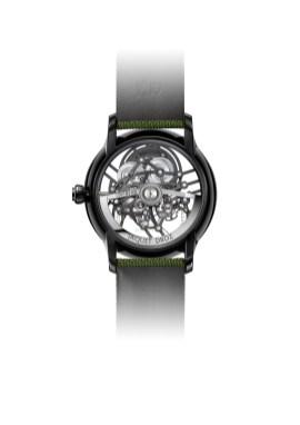 Jaquet Droz Grande Seconde Skelet-One Green
