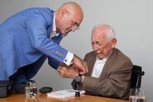 Marc A. Hayek and Jean-Jacques Fiechter ©Blancpain