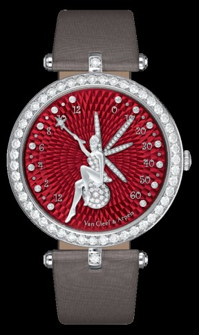 Lady Arpels Féerie Rouge watch Poetic Complications collection