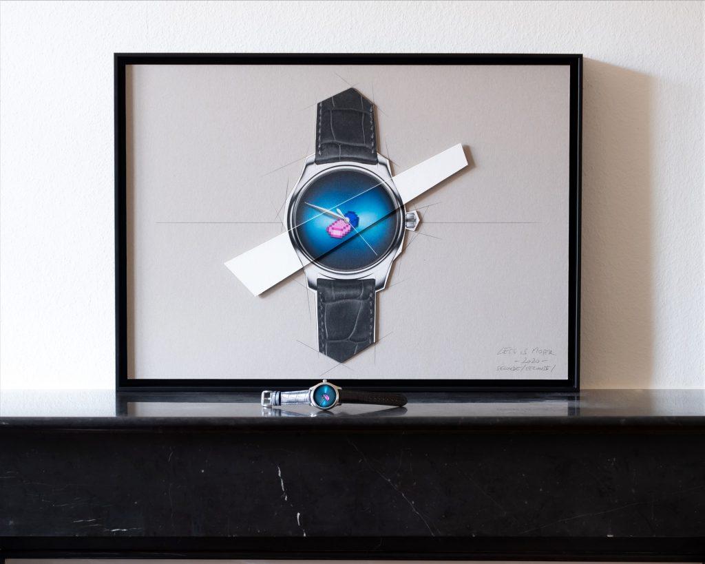 H. Moser & Cie. Endeavour Centre Seconds Concept X Seconde/Seconde/