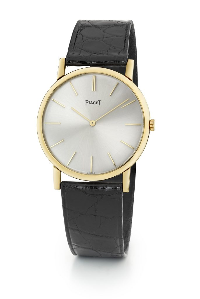 Piaget Private Collection YG ultra-thin 9P watch 1957