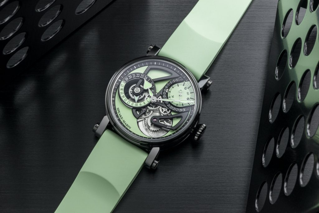 Speake-Marin One&Two Openworked Dual Time Mint