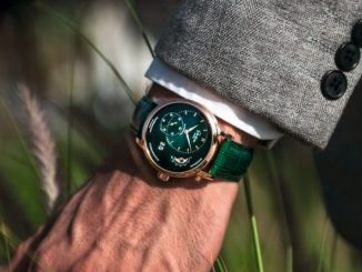 Glashütte Original PanoMaticLunar Red Gold Lush Green