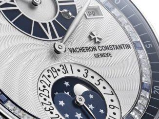 Regulator perpetual calendar – Moonlight Jewellery Sapphire 4007C/000G-B709
