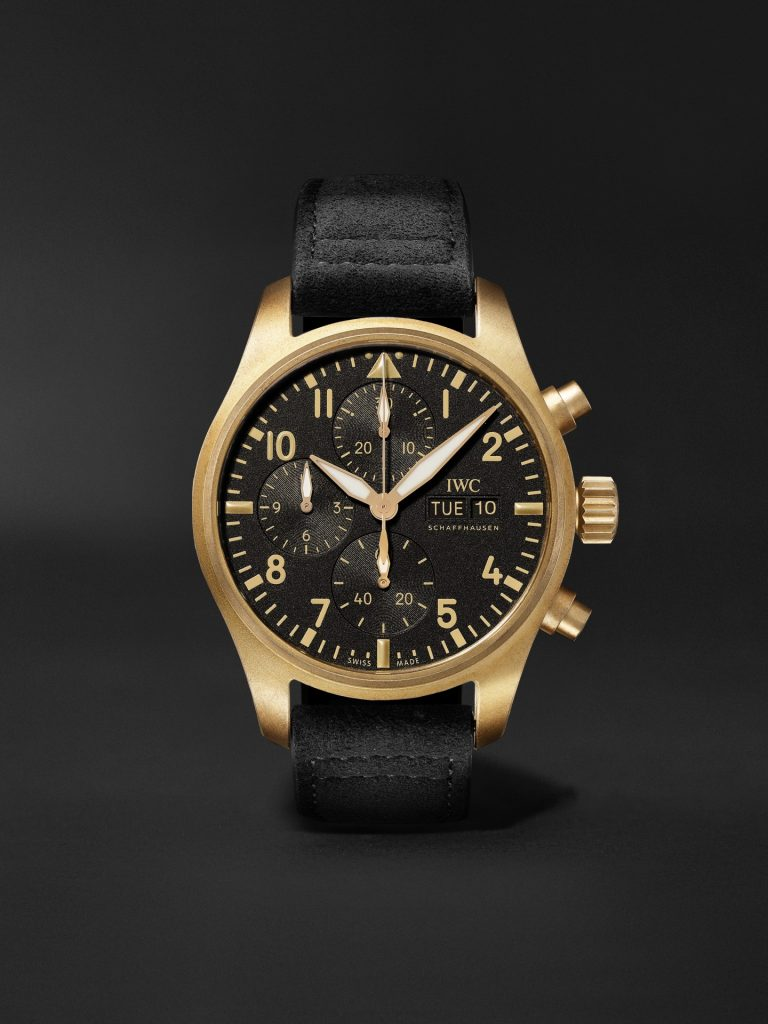 IWC 10 Years of MR PORTER Limited Edition Pilot Automatic Chronograph 41.1mm Bronze