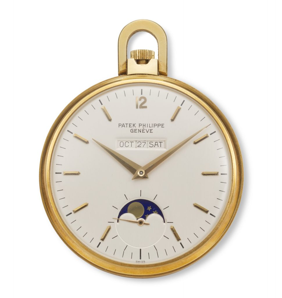 Patek Philippe, American Calendar Pocket Watch, 18k Yellow Gold, Ref. 725-4