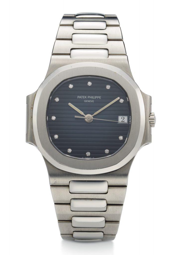 Patek Philippe, Nautilus, Steel, Diamonds, Ref. 3800-1