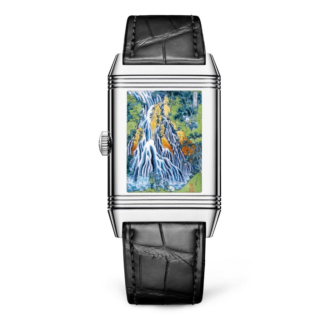 Jaeger-LeCoultre Reverso Tribute Enamel Hokusai 'Kirifuri Waterfall'