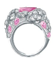 Piaget Rose Ring Ref. G34UX200