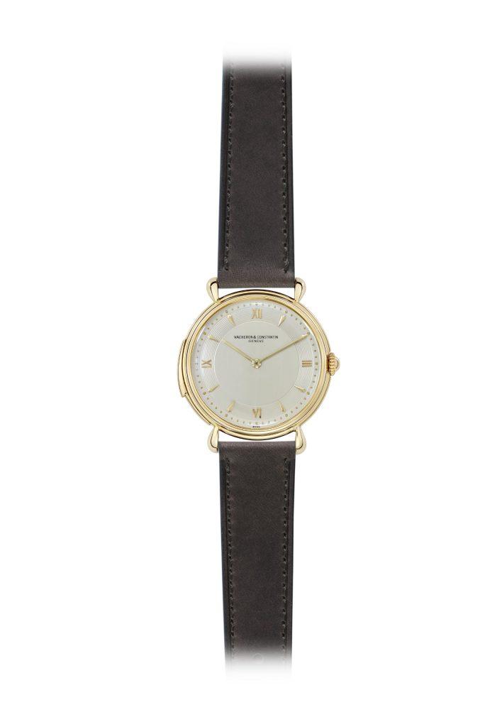 18K yellow gold minute-repeater gentleman's wristwatch (Inv. ref 11761) – 1951
