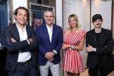 Ricardo Guadalupe with Hublot Friends of the Brand Giorgio Rocca Diletta Leotta and Fabio Rovazzi