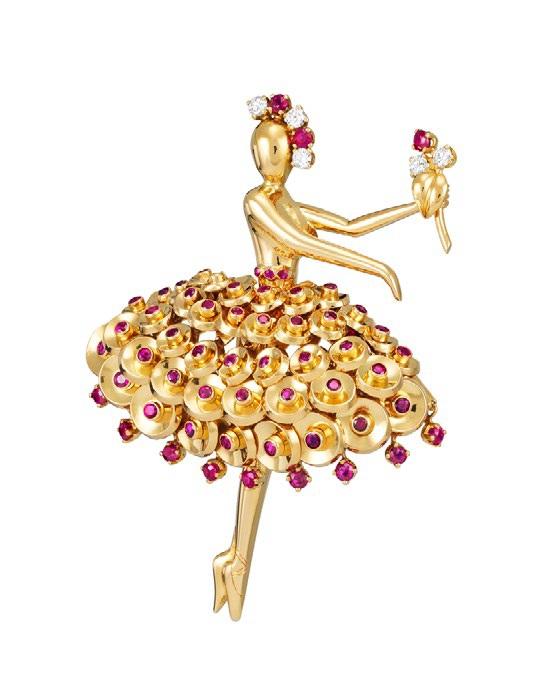 Bouton d'or ballerina