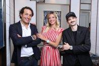 Hublot Friends of the Brand Giorgio Rocca Diletta Leotta and Fabio Rovazzi