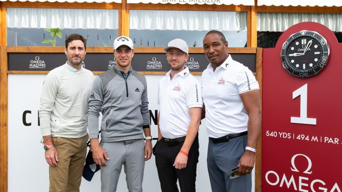 OMEGA Masters 2021 - Celebrities join Guido Migliozzi for the Pro-Am