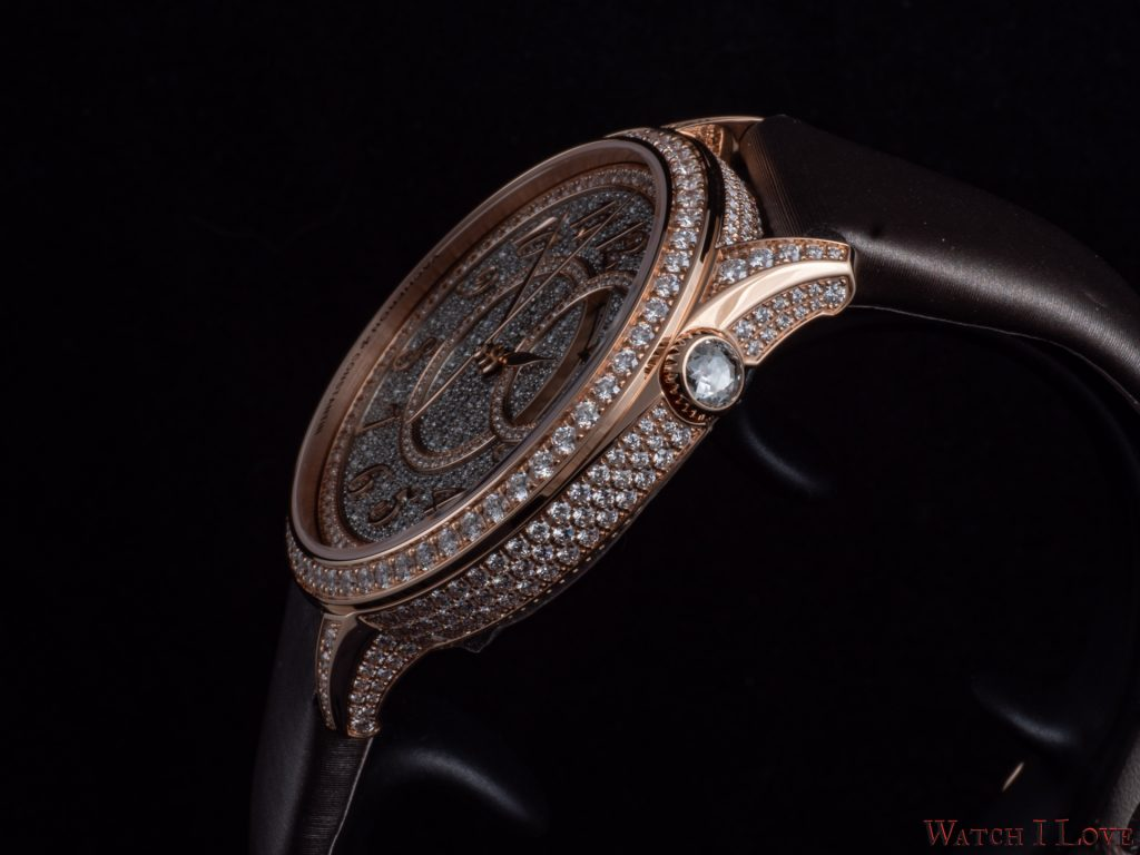 Vacheron Constantin Égérie self-winding diamond pavé