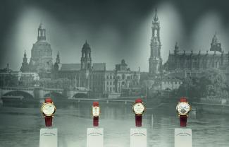 """The first A. Lange & Söhne collection of the new era: LANGE 1, ARKADE, SAXONIA and TOURBILLON """"Pour le Mérite"""" from 1994"""
