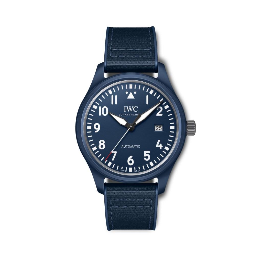 "IWC Pilot's Watch Automatic Edition ""Laureus Sport For Good"" Special Edition Blue Ceramic"